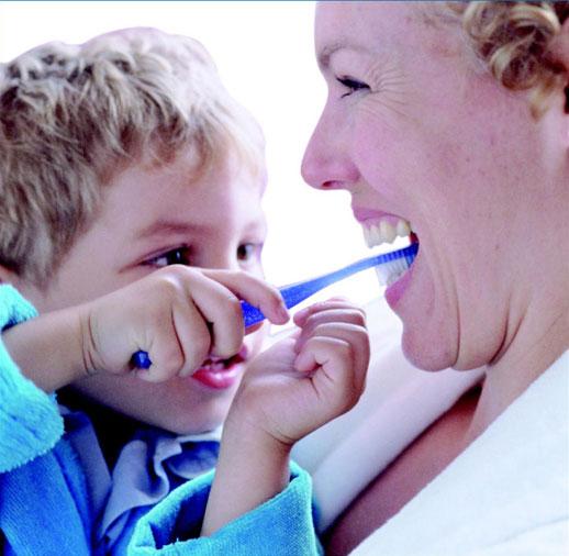 Consejos de salud bucodental en niños