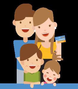 Familia CLUB Tratamientos dentales