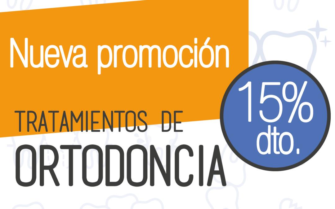 Promocion de Ortodoncia al 15% de descuento