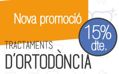 Promoció d'Ortodòncia al 15% de descompte