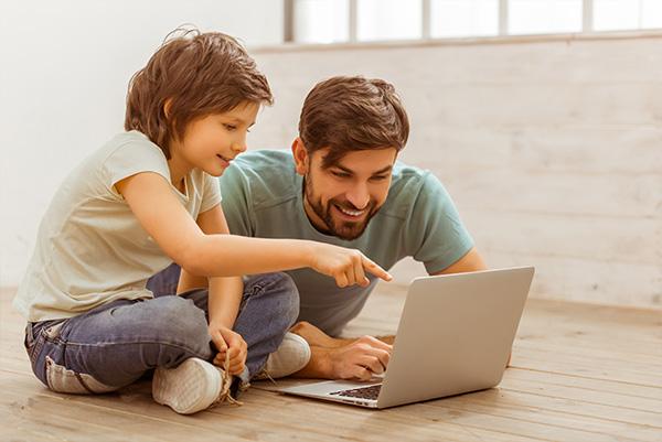 Pare i fill cita virtual gratuïta