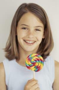 No comer cosas duras ni caramelos pegajosos para no tener una rotura